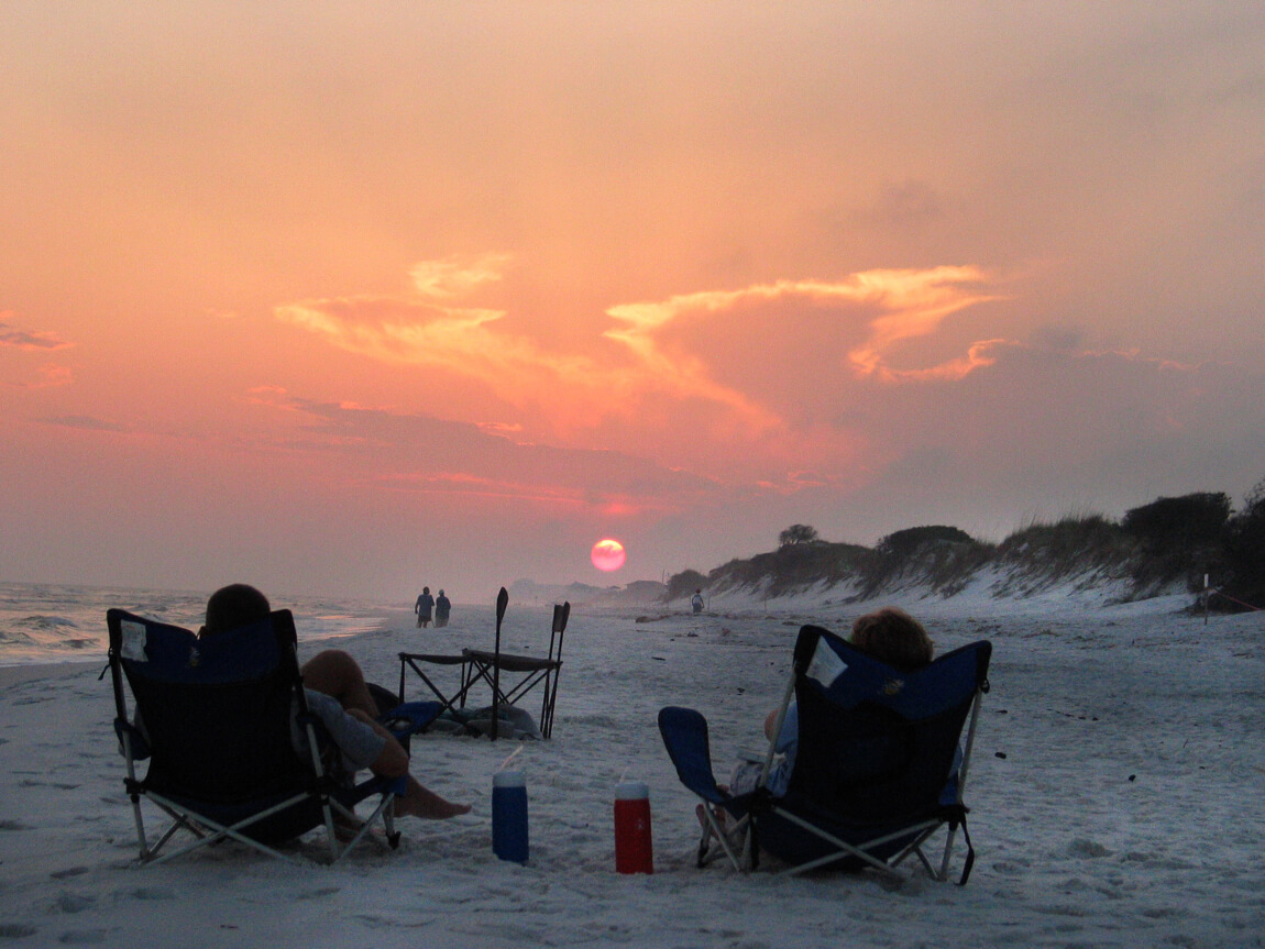 Grayton Beach State Park, near Santa Rosa Beach in the Panhandle, moved up to No. 3 in Dr. Beach's annual list of the top 10 beaches in America. Caladesi Island State Park near Dunedin was No. 7.